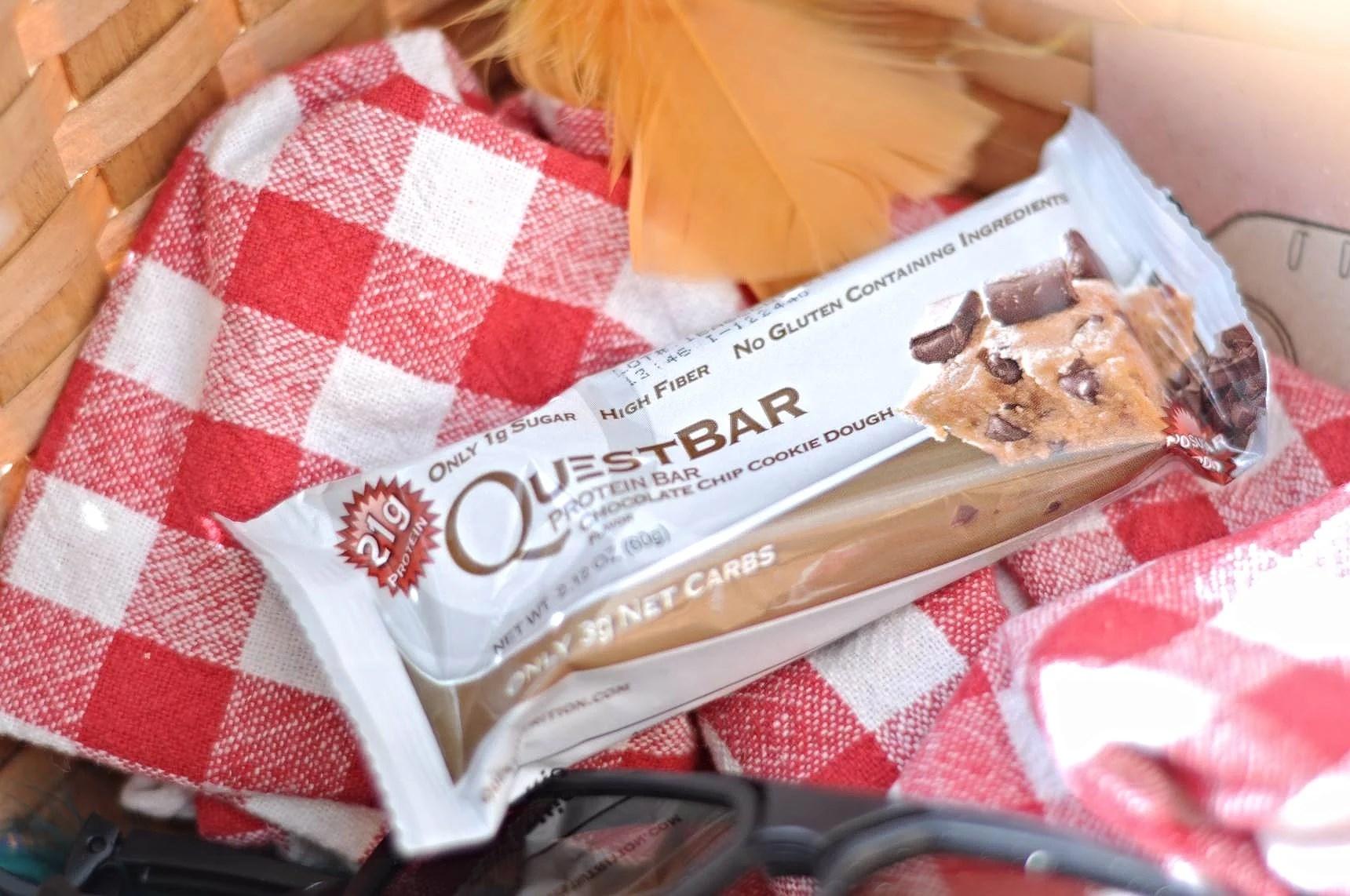 Questie break: Snabbt varmt och proteinrikt kvällsfika!