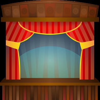 Teaterscen: https://pixabay.com/sv/scenen-teater-visa-underh%C3%A5llning-158366/