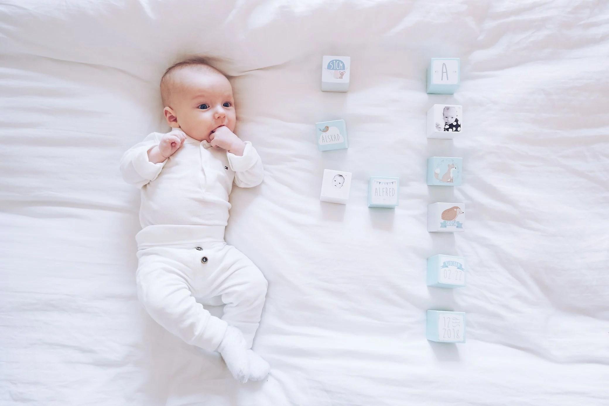Alfred 4 månader