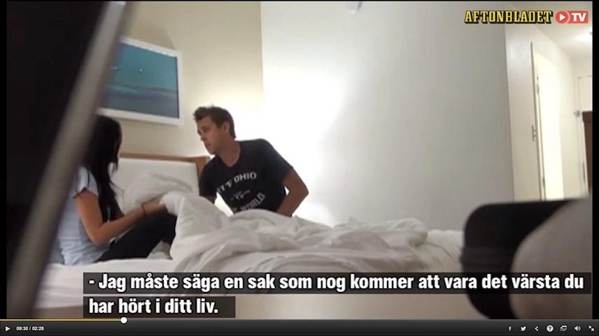 flickvän otrogen på semester Vänersborg