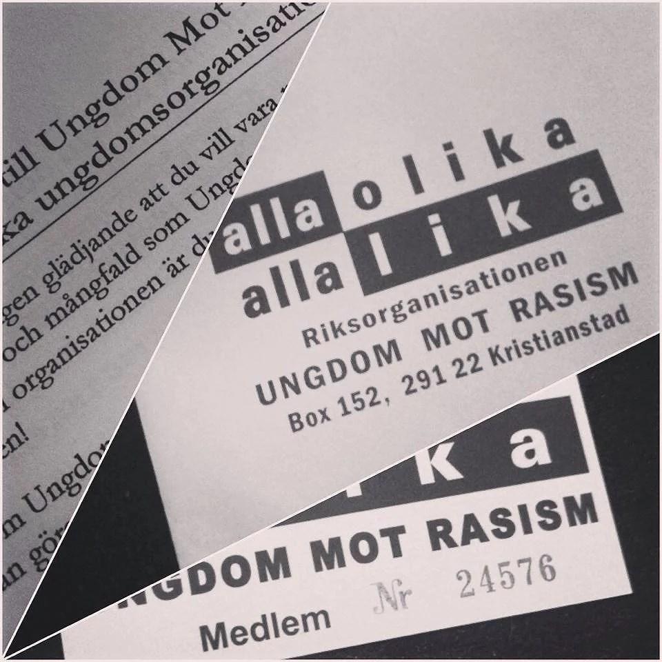 Ungdom i tag mot rasismen