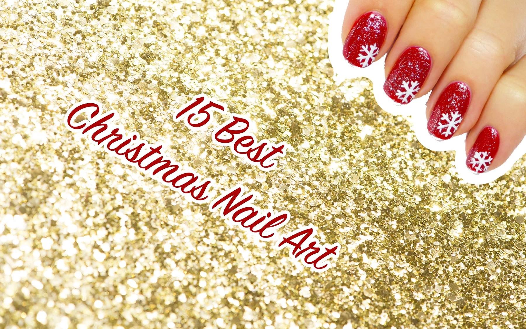 15 Best Christmas Nail Art