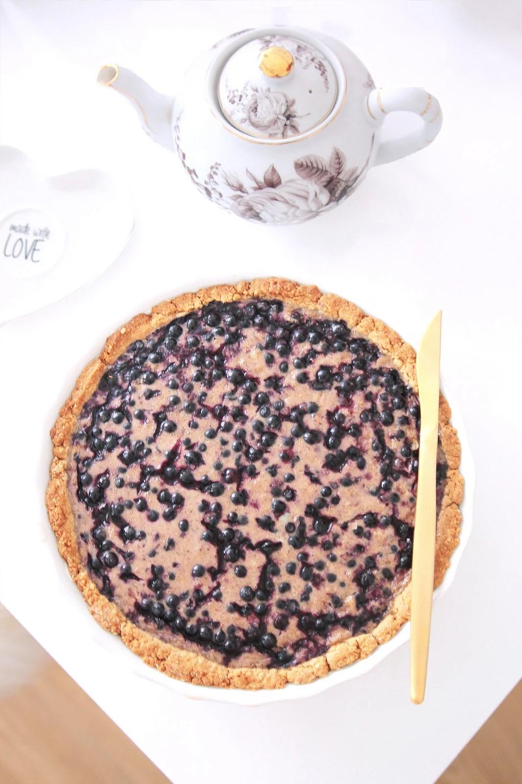Blueberry pie (wheat & dairy free)