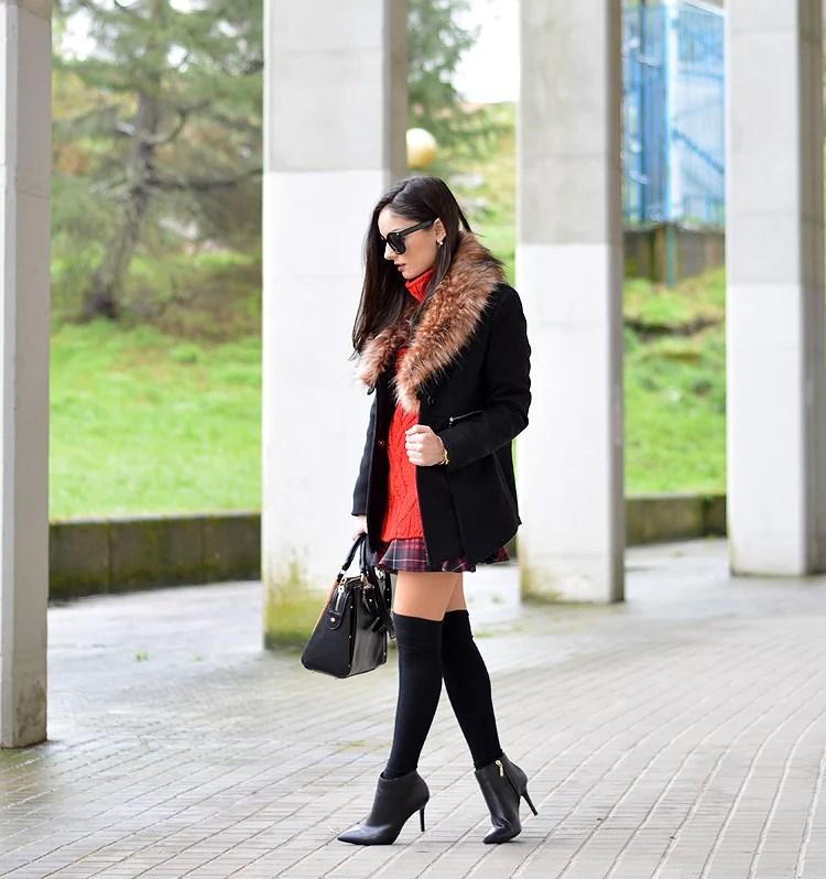 Zara_ootd_outfit_botines_tartan_choies_mango_abrigo_04