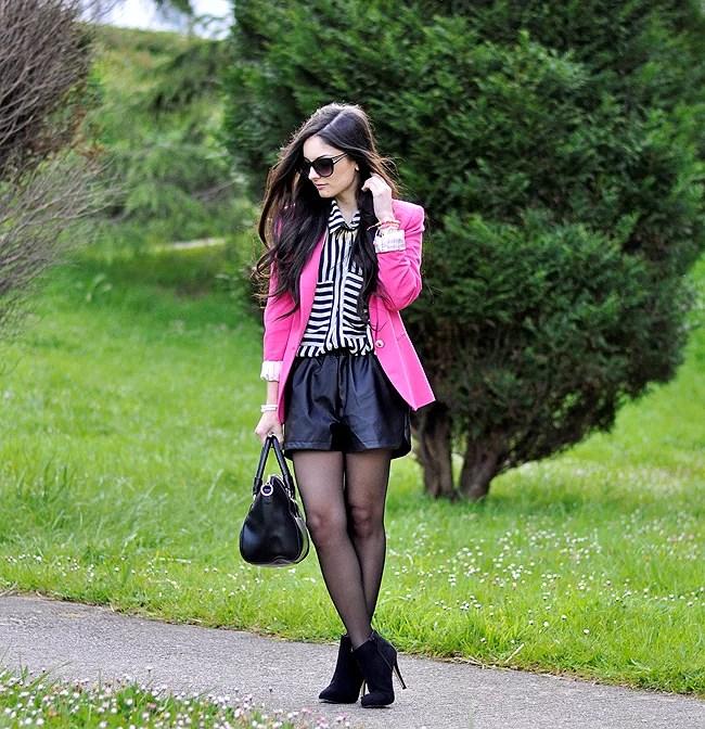 ...Fluor Pink & Stripes...