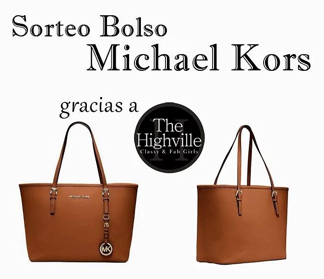 ¡¡¡Sorteo de un Bolso Michael Kors by The Highville - The Highville Giveaway!!!
