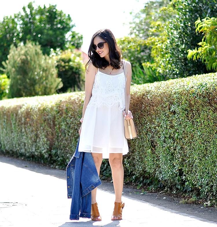 ...White Summer Dress...