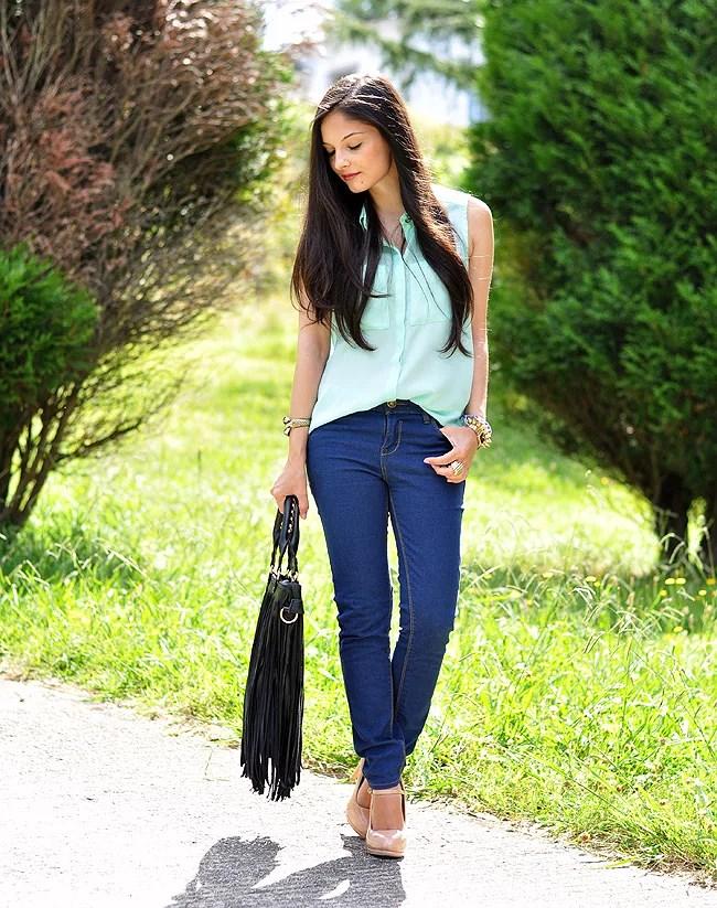 Jeans & Mint...