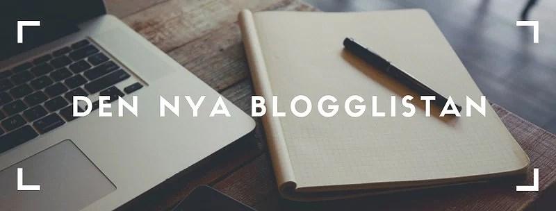 Den nya blogglistan
