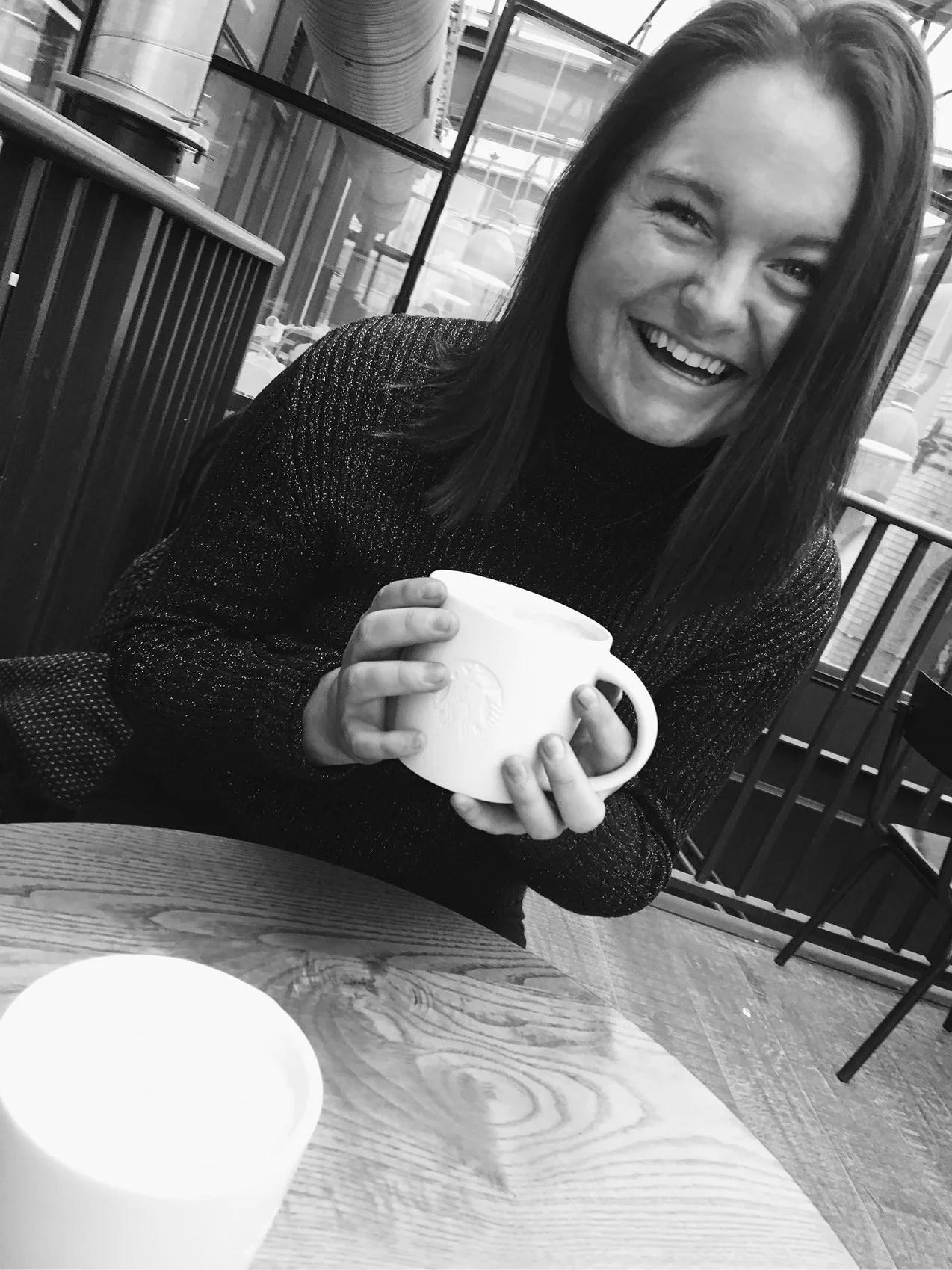 Kaffe är alltid en bra idé