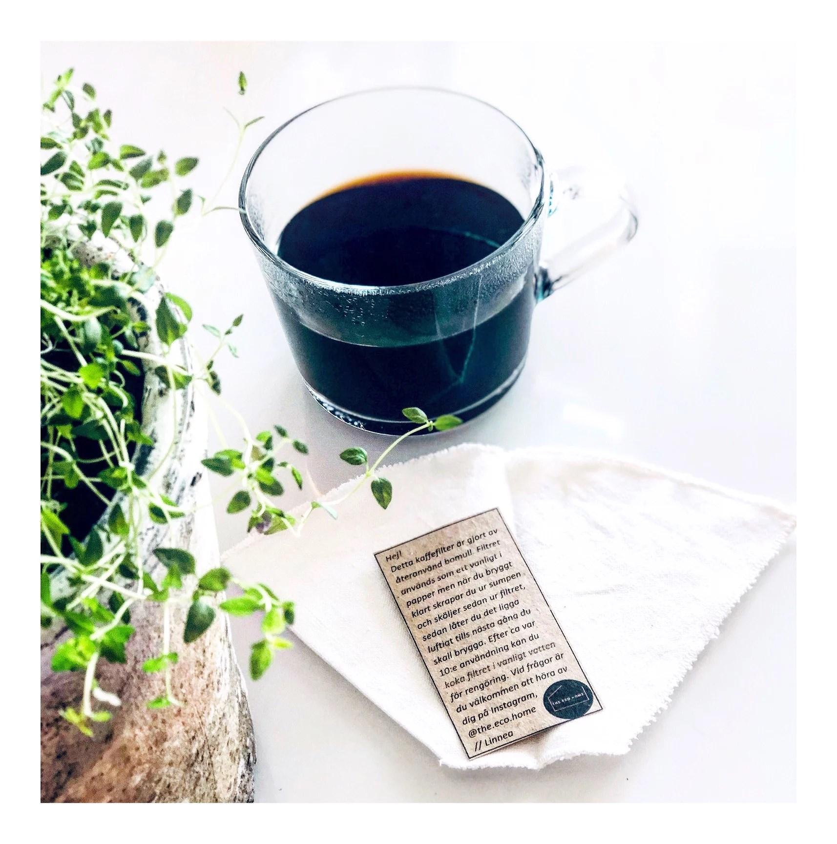 Återanvändbart kaffefilter!