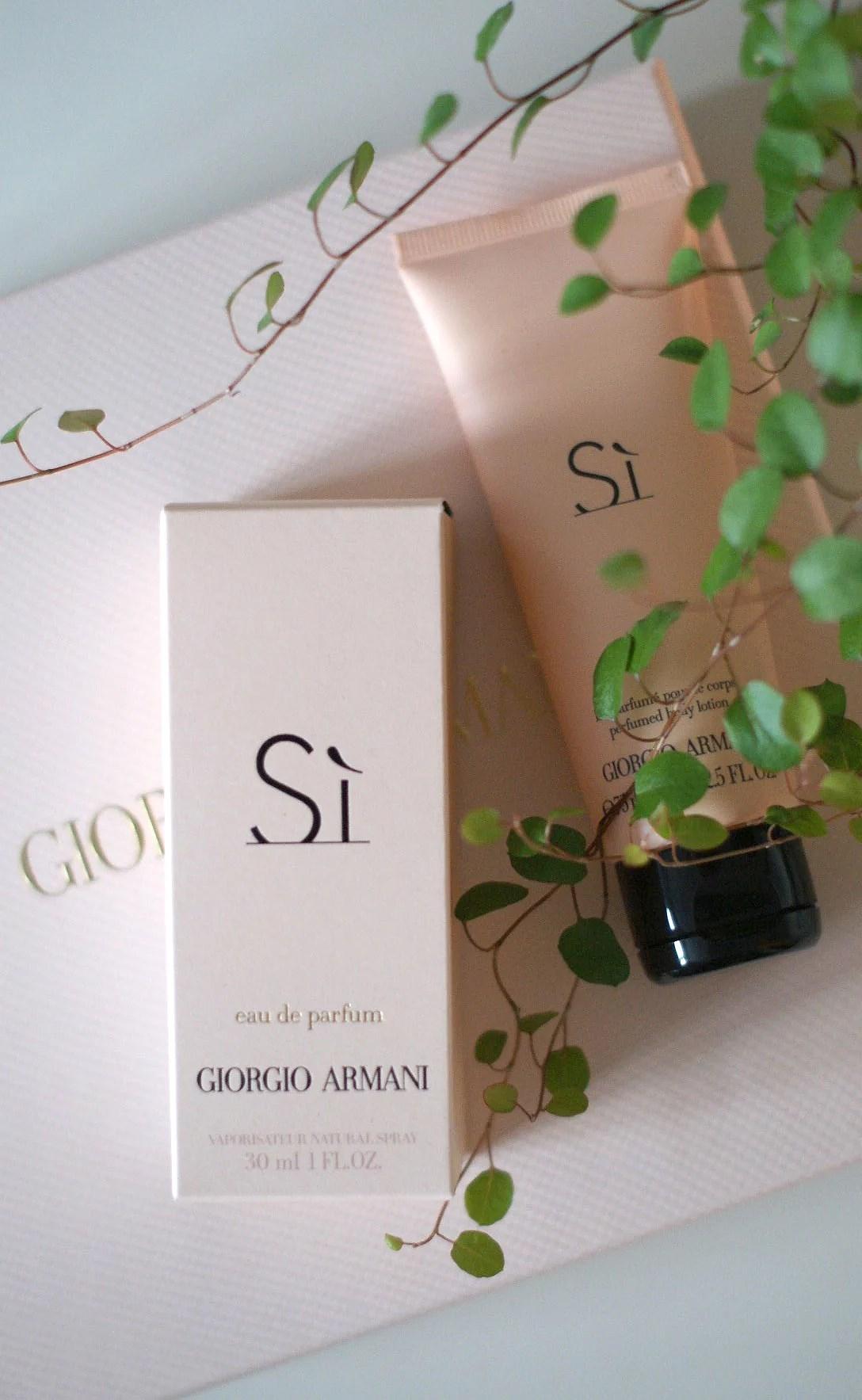 Giorgio armani-si parfume-si-It's My Passions-Modeblog-Dansk modeblogger-Aalborg modeblog-Julie Mænnchen