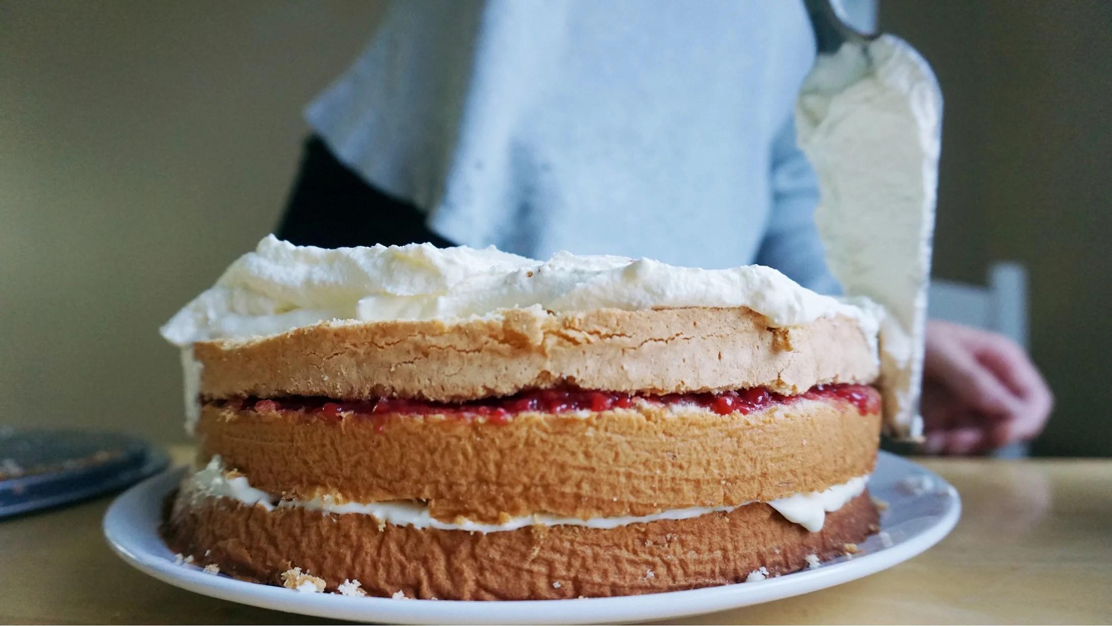 Hemmagjord prinsesstårta