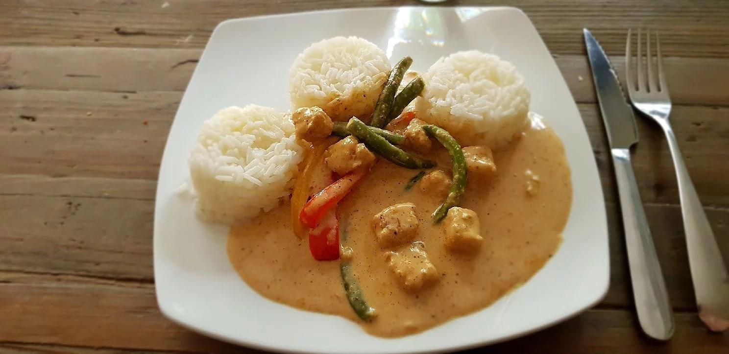 Vegetarisk gryta med smak av Indien