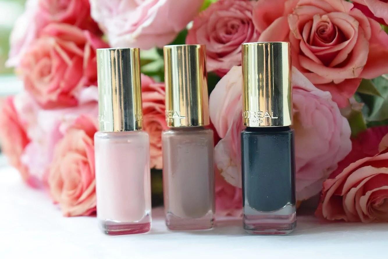 Neglelak i smukke efterårsfarver fra L'oréal