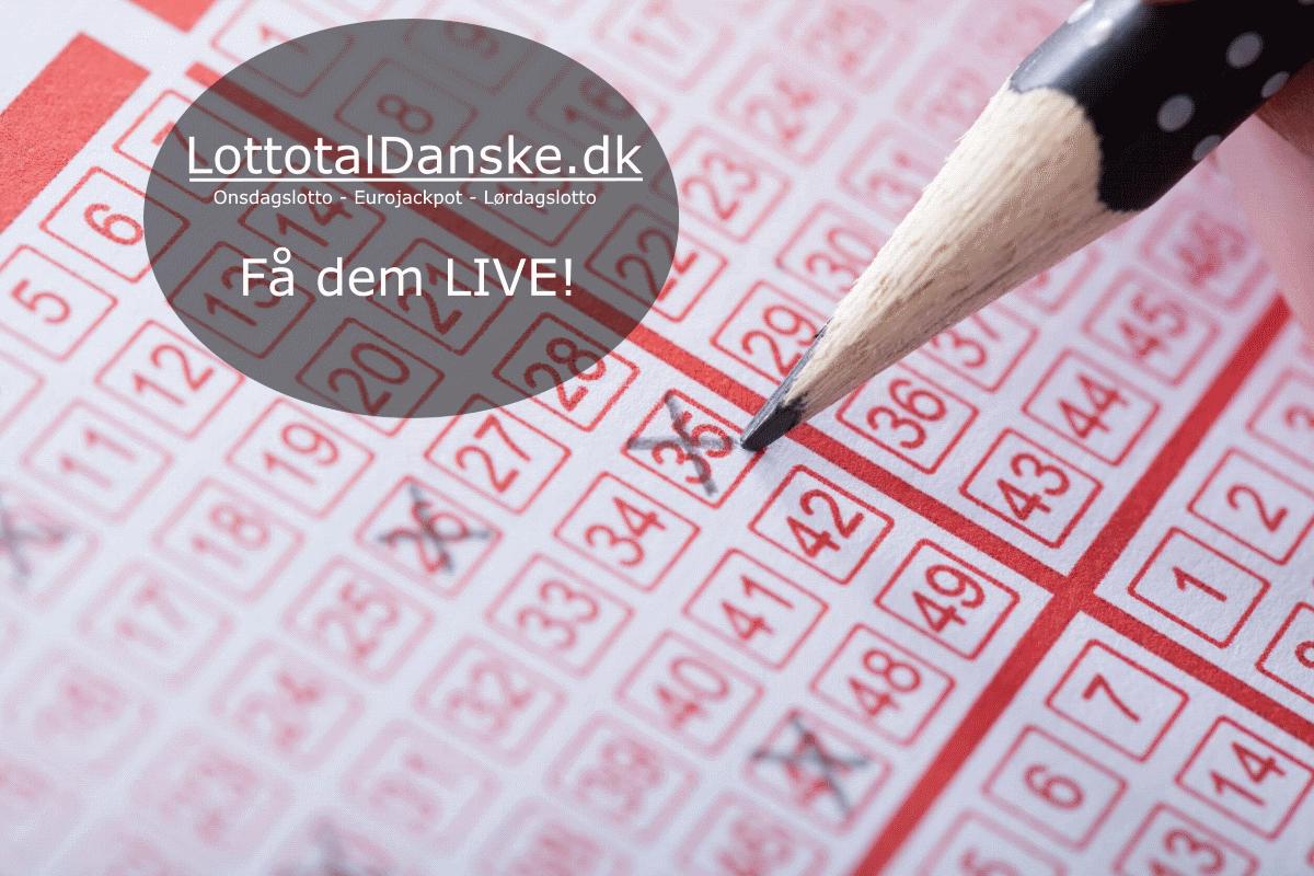 Få de danske lottotal first her