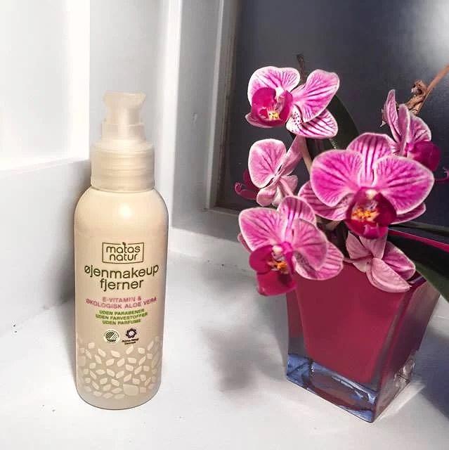 Nyt favorit produkt - makeupfjerner fra Matas Natur