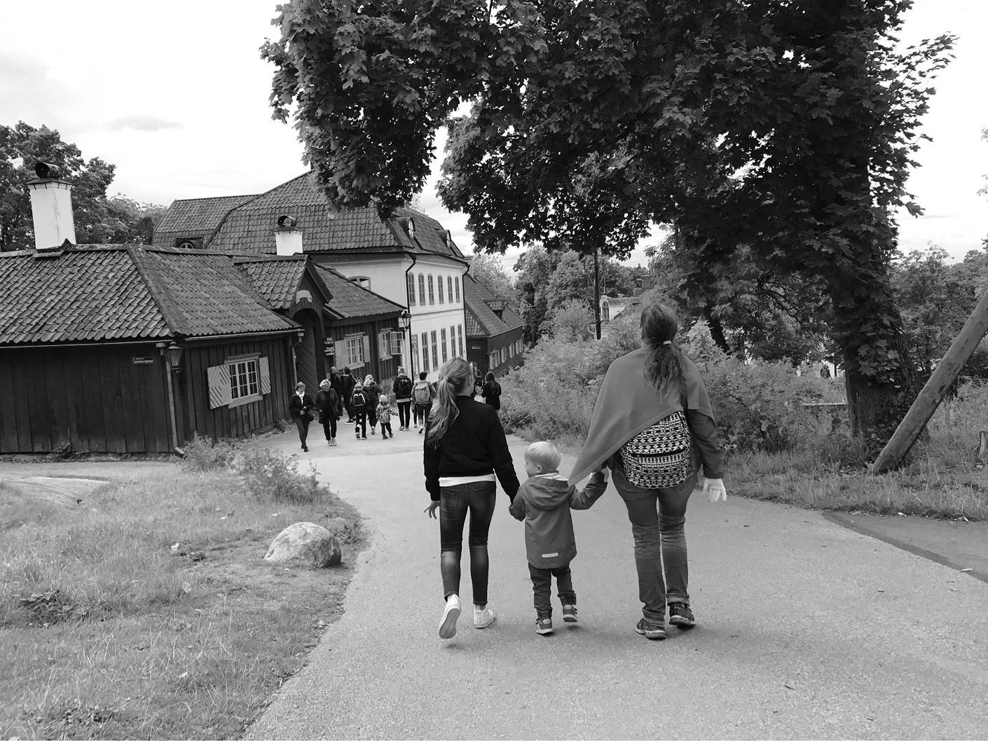 Hänga med kusinerna och Skansen-besök