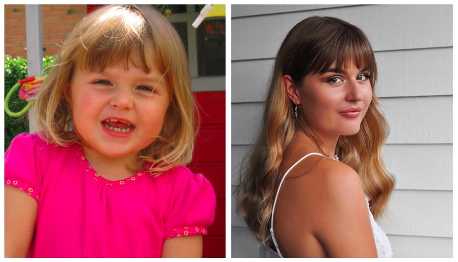 Mine forskellige hår looks gennem årene