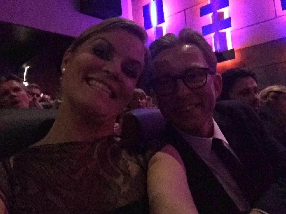 Og så havde jeg fornøjelsen at sidde ved siden af Brian Lykke, det dejlige menneske.