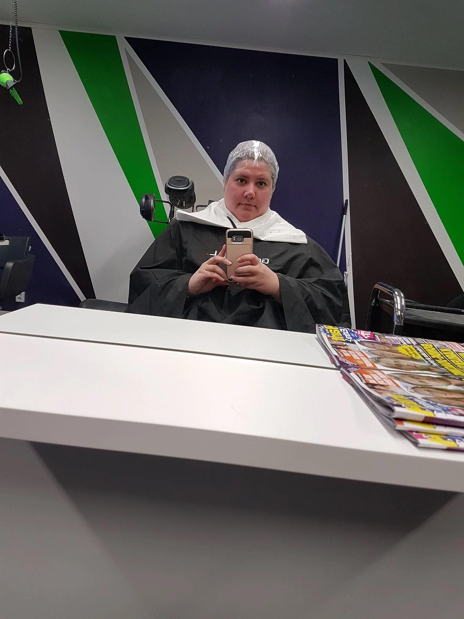 ATM- hos frisören