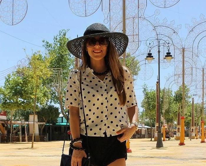 Look alternativo al vestido de flamenca con hym