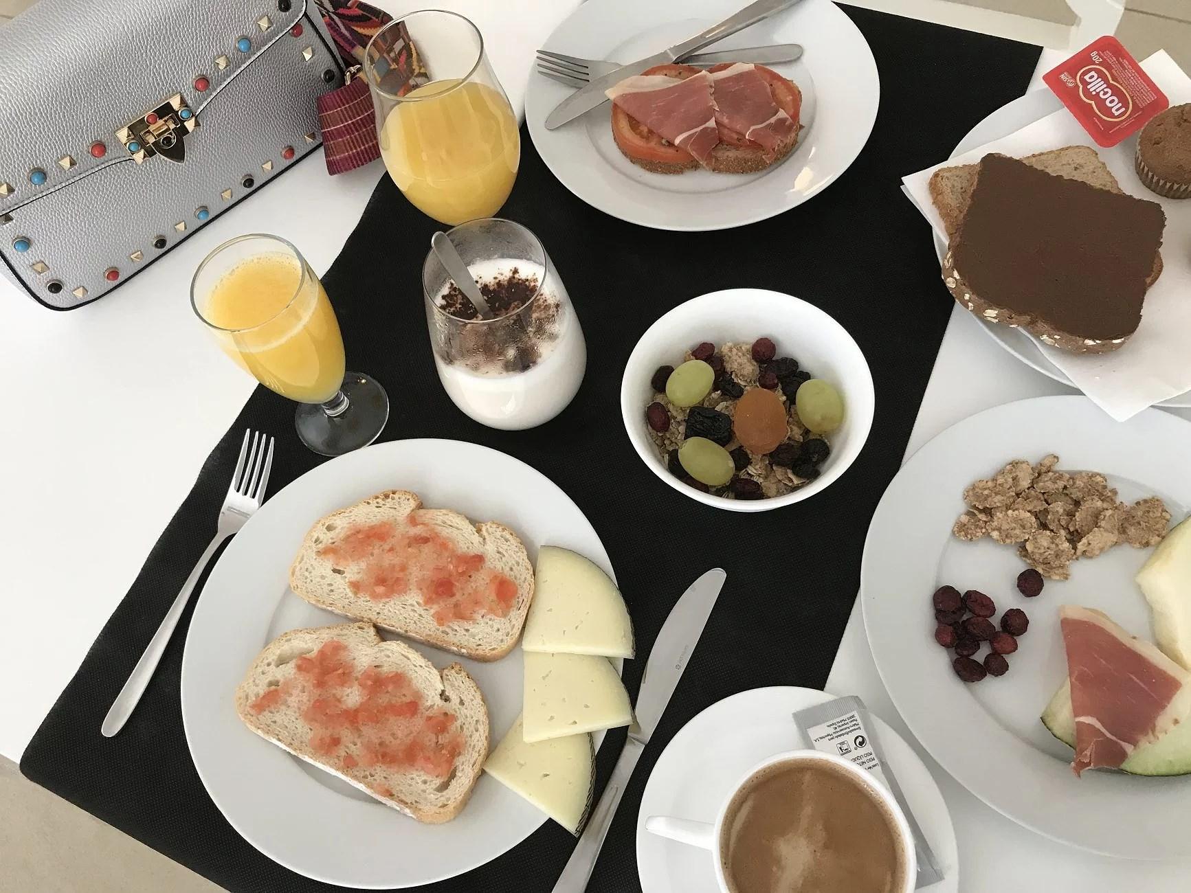 Desayunos en Hotel Spa Ceres
