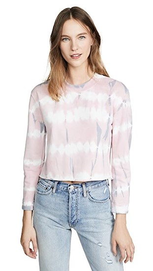 pastels tie-dye top