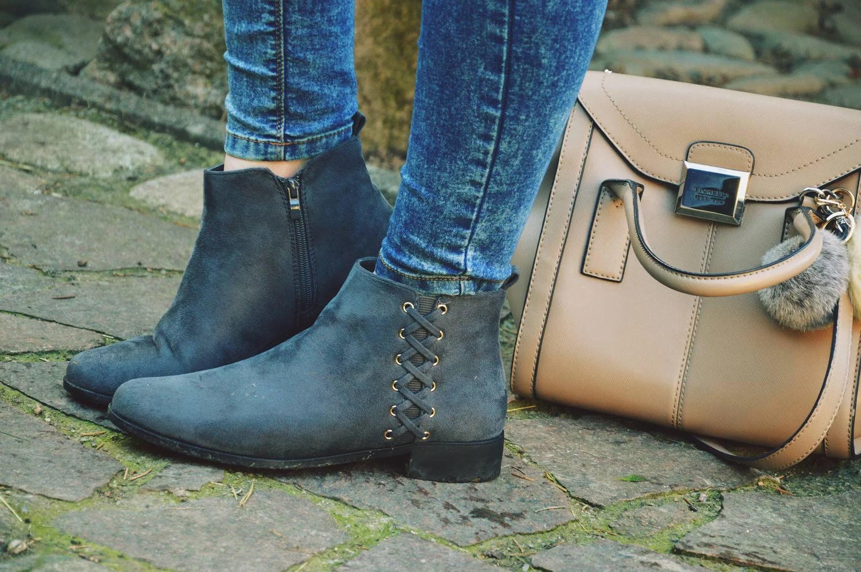 botki, outfit, merg, jeans, bag