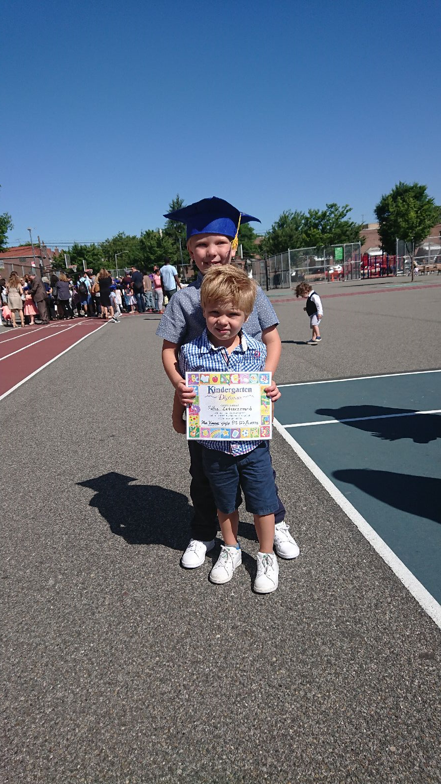 Kindergarten stepping up cermony