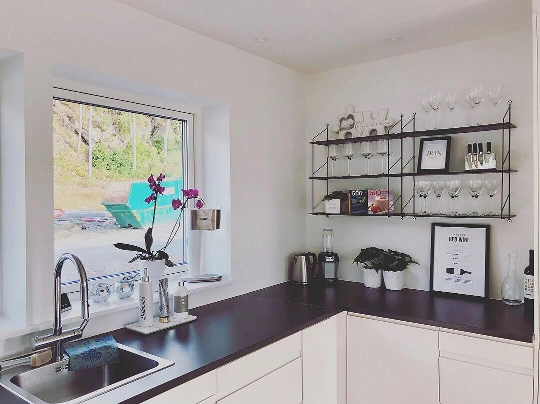 Hyllor i köket