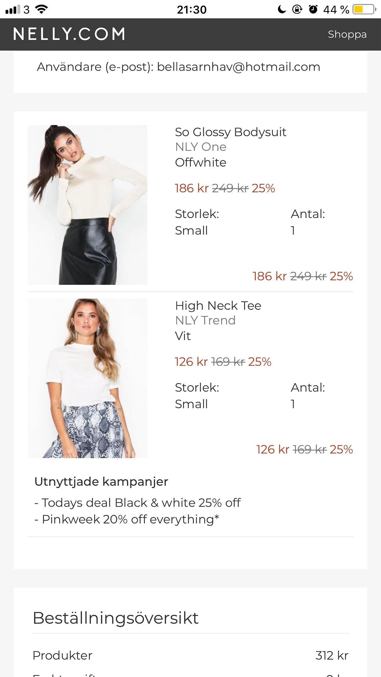 Online shopping igen..