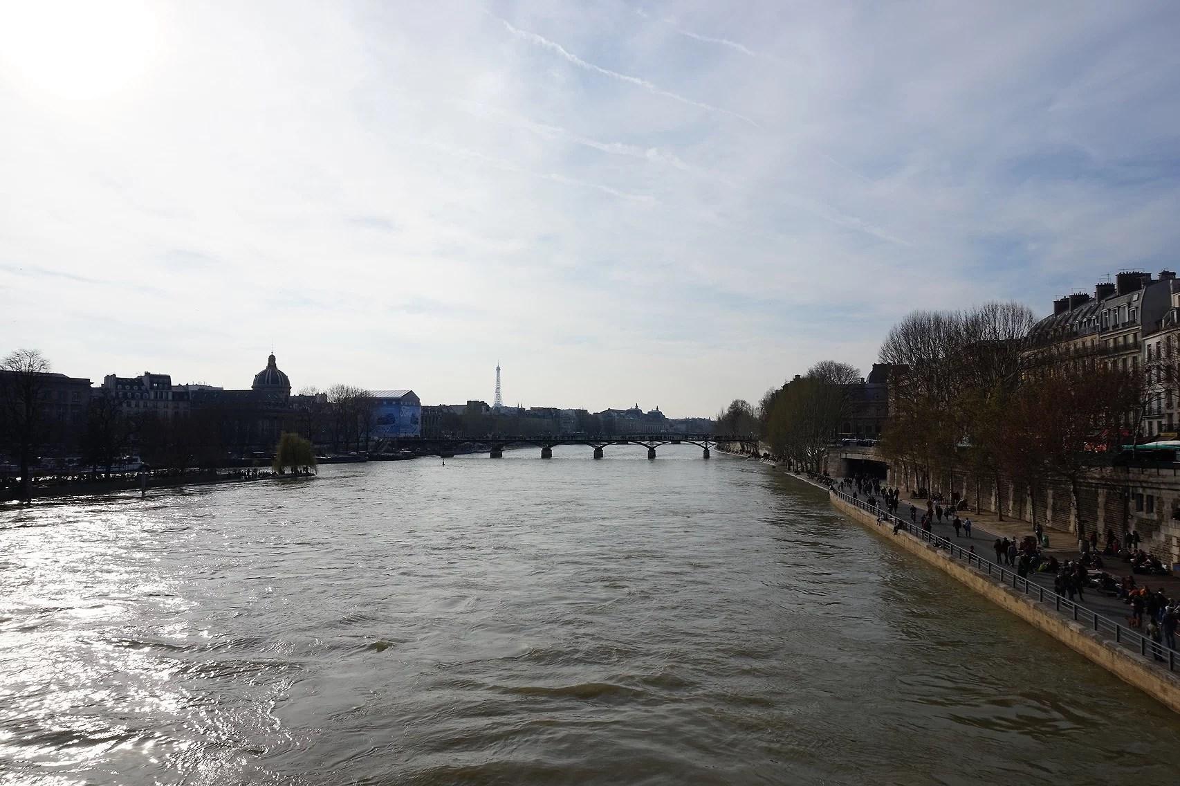 Une promenade en bord de Seine