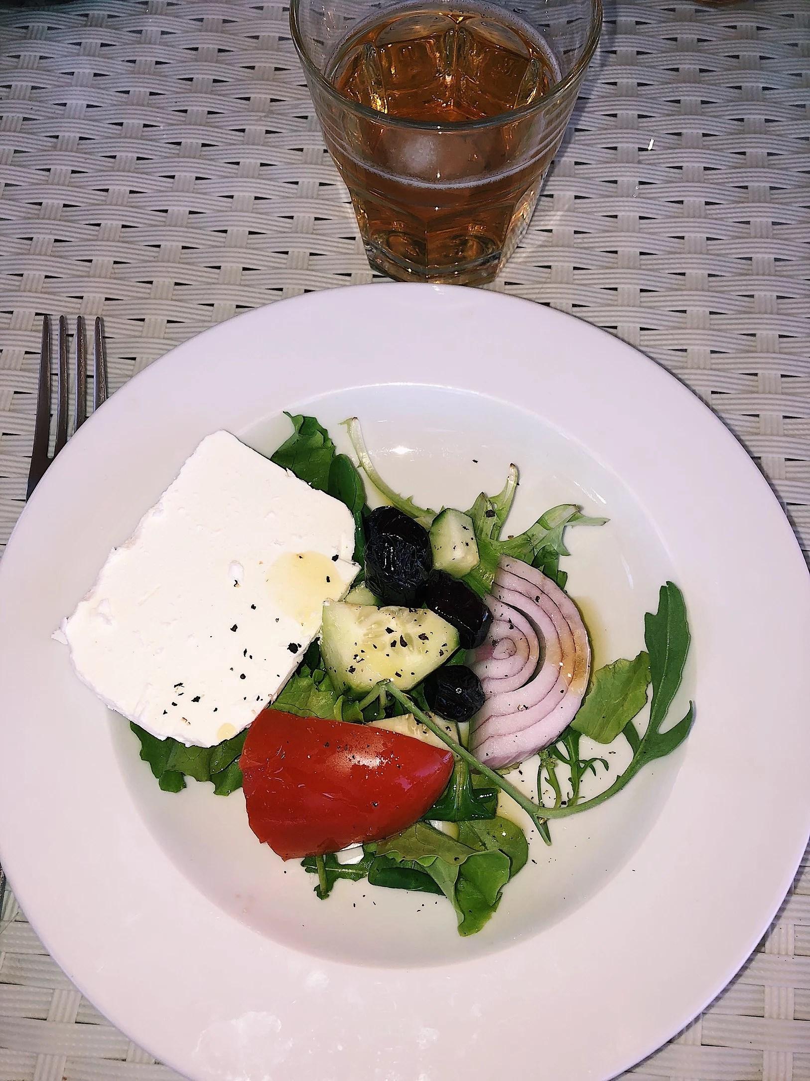 Perfekta lunchen i värmen