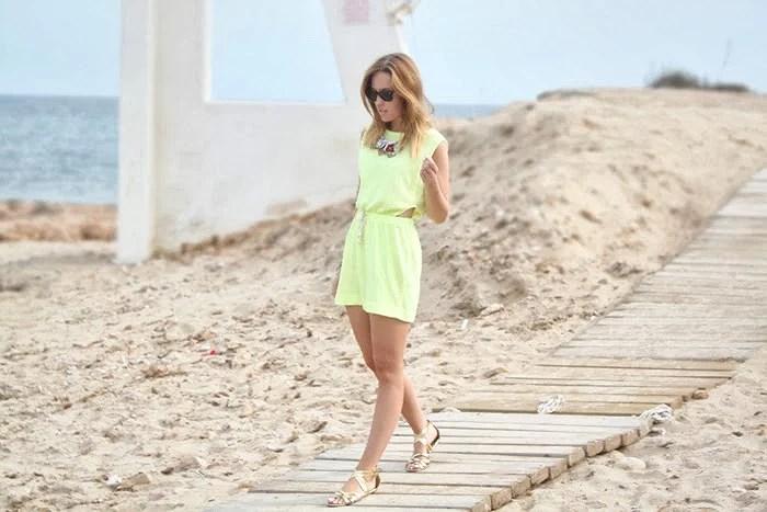 Neon on the beach