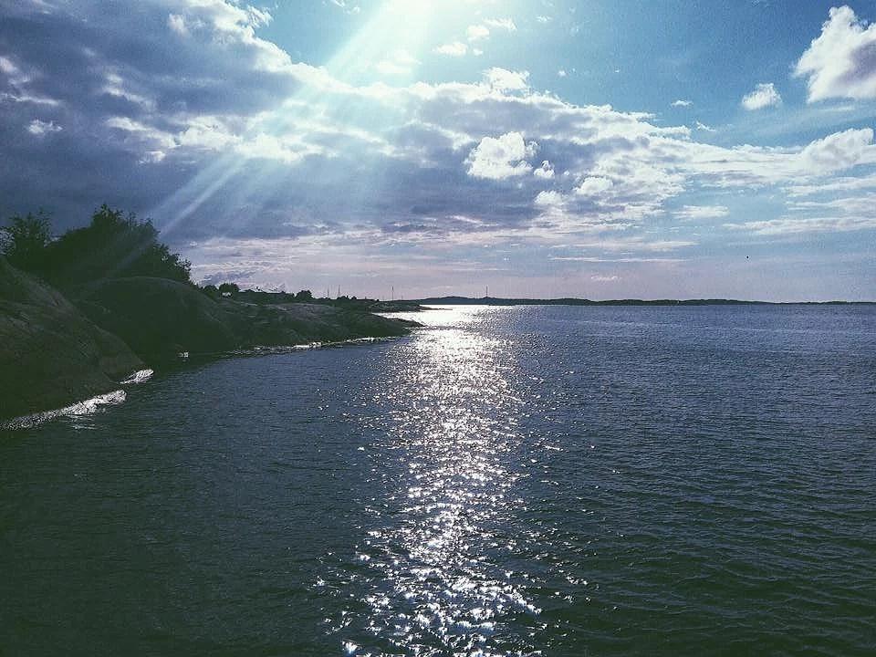 Havet och drinkar