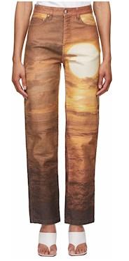 Priscavera brown sunset jeans