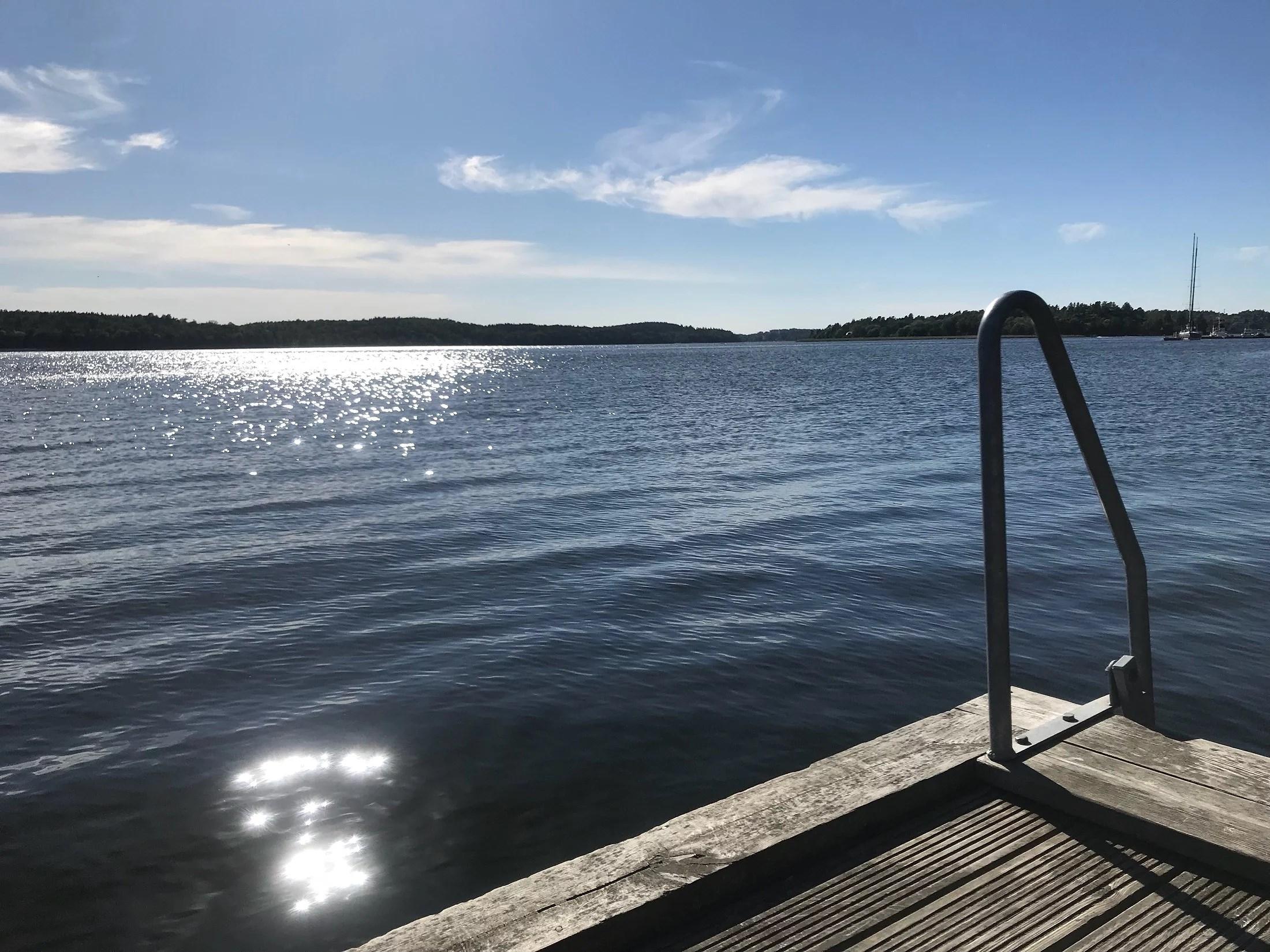 Bada på Lidingö