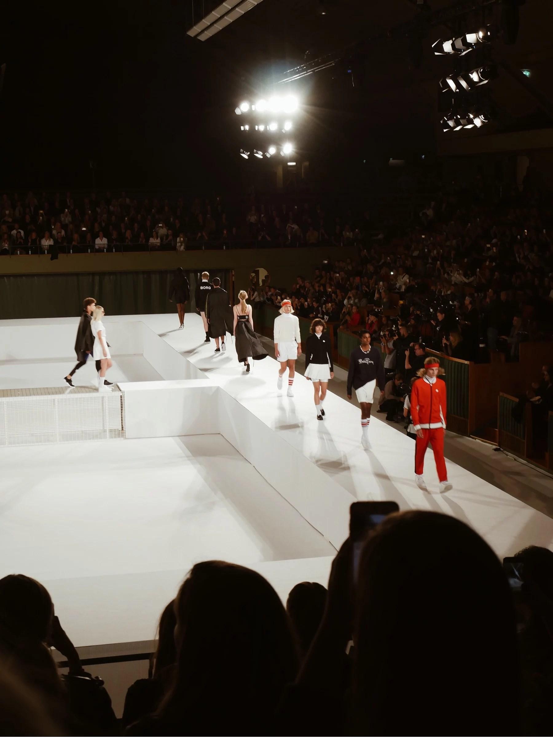 Modevisning - Björn Borg