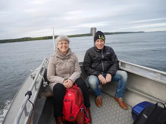 """""""Tänk att åka båt är eran vardag"""" säger de flesta som är på besök... Ja, tänk vilken tur vi har känner jag! :)"""
