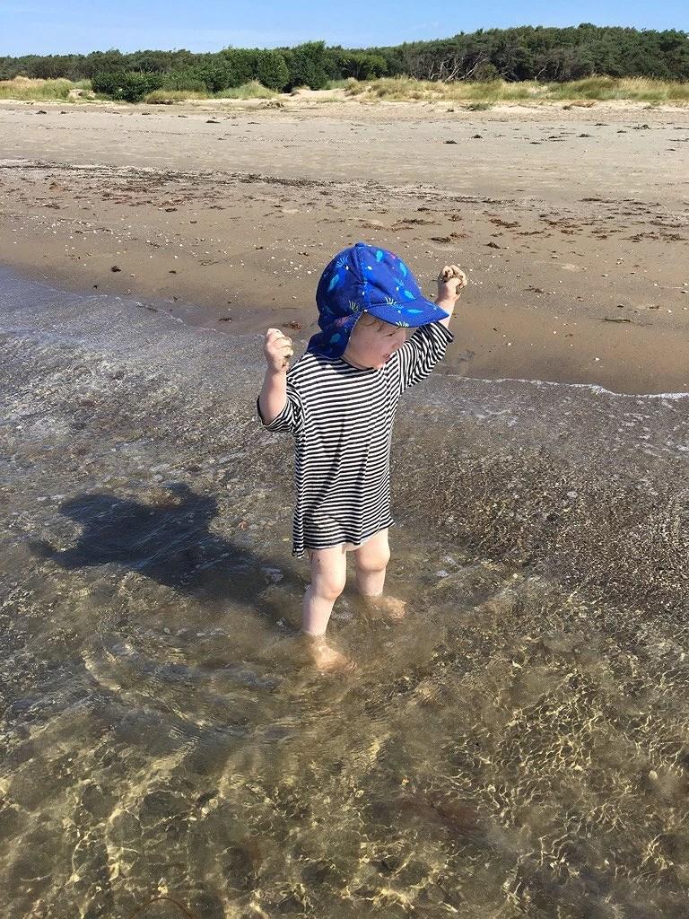 Det blev ett bad!