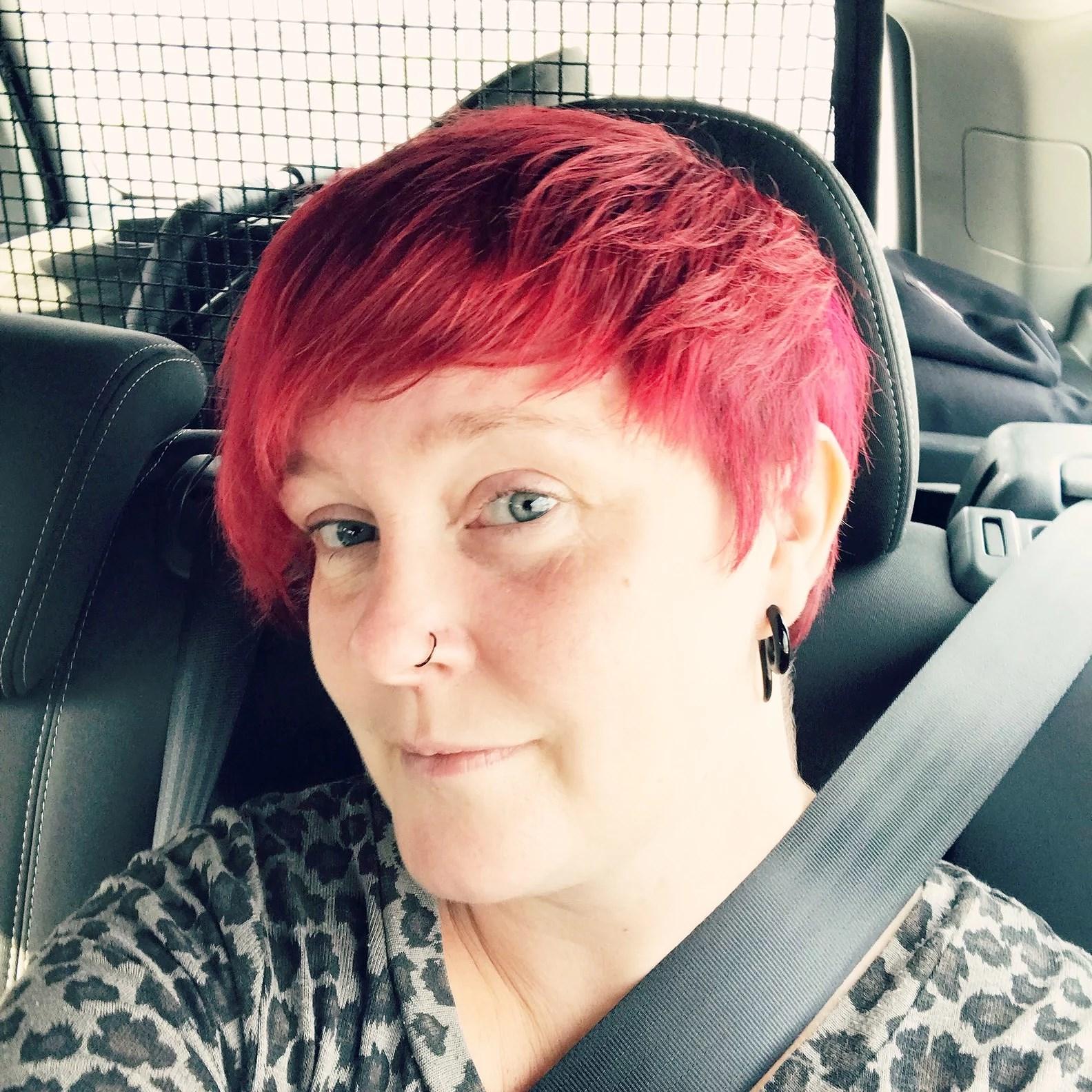Ny hårfärg!