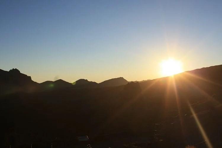 Fuego en El Teide
