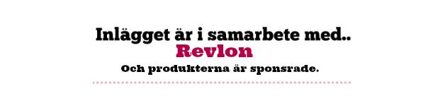 TÄVLING - VINN HÅRPRODUKTER FRÅN REVLON