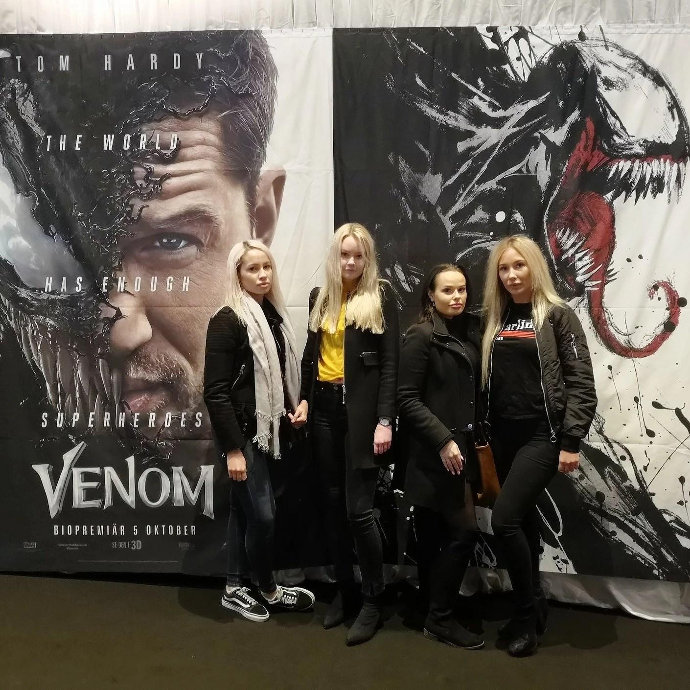 Event på Whyred och förhandsvisning av filmen Venom.
