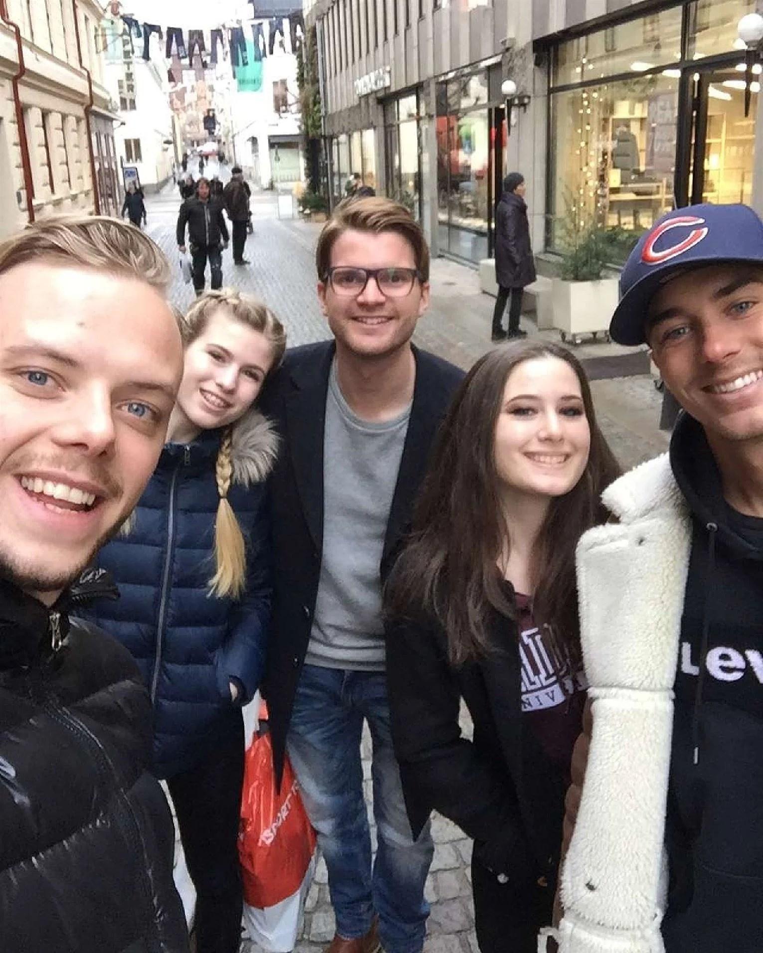 Träffade på 3 speciella i Göteborg