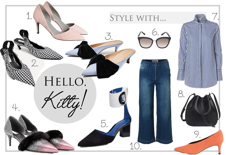 Wish List // Kitten Heels