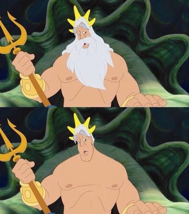 Disney men utan skägg