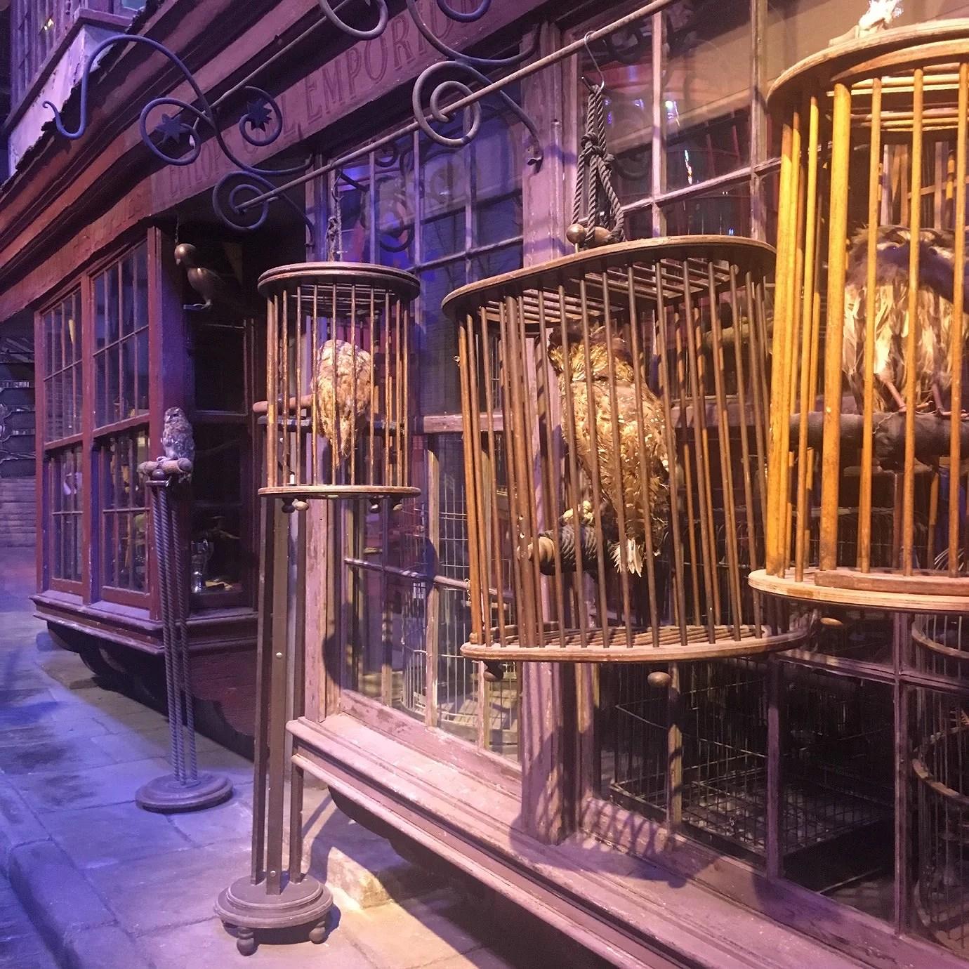 Harry Potter studio 3pic's