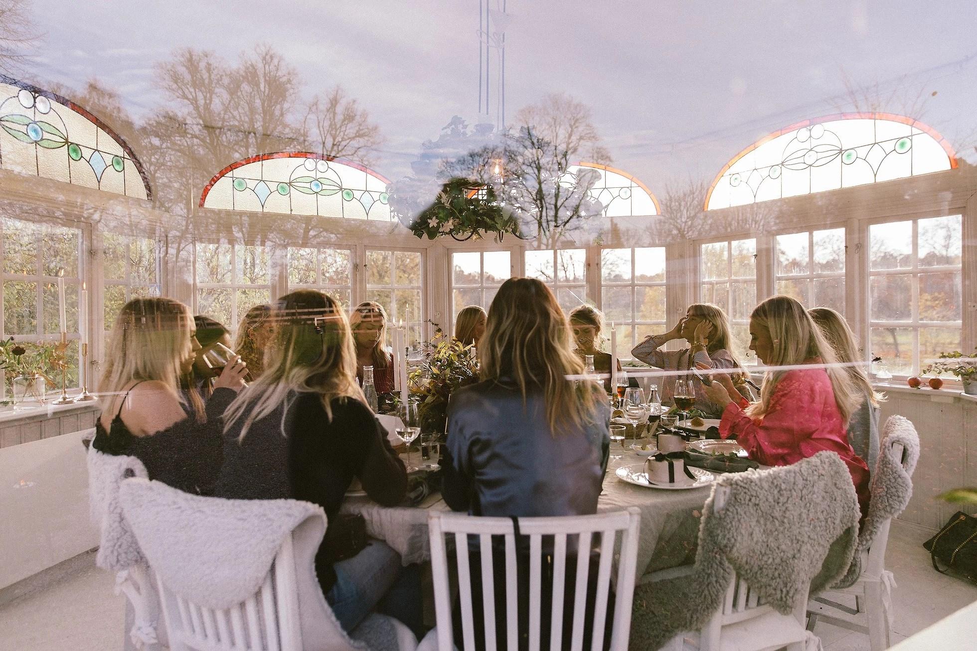 Mysiga luncher & drivna vänner